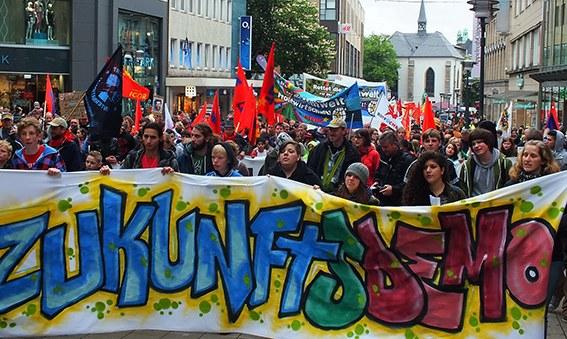 Pfingstsamstag: Zukunftsdemonstration in der Essener City