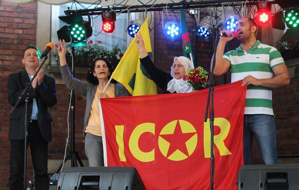 Begeisterndes Fest der Internationalen Solidarität