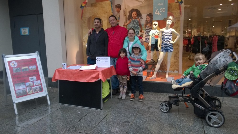 Halle/Saale: Montagsdemo am Weltkindertag