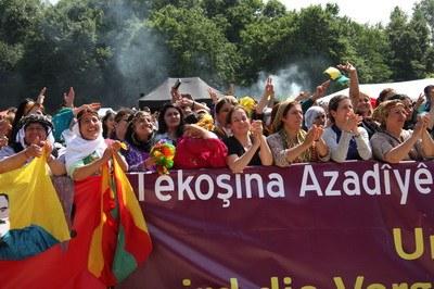 Internationale Frauenpower beim 11. Zilan-Frauenfestival in Dortmund