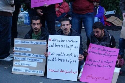 Solidarität mit syrischen Flüchtlingen in Dortmund – Kein Fußbreit den Faschisten!