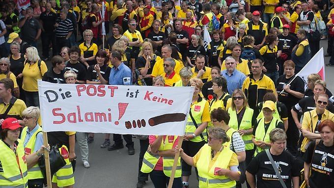 """Streik bei der Post ausgeweitet: """"Ich kämpfe für die Jüngeren"""""""