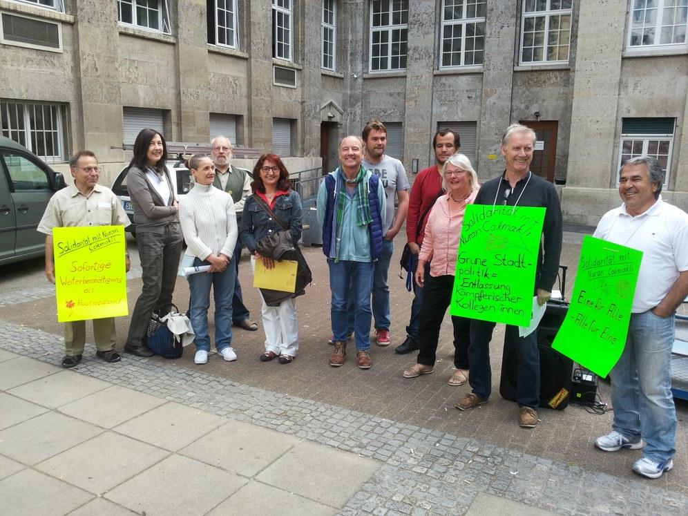 Solidarität mit Nuran Cakmakli - erster wichtiger Erfolg