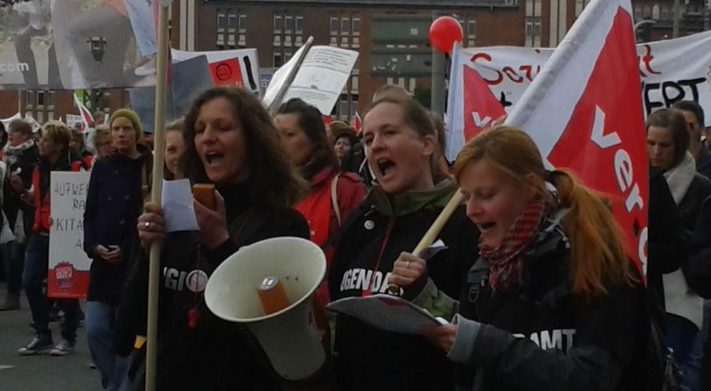 Ver.di-Streikdelegierte gegen Schlichterspruch