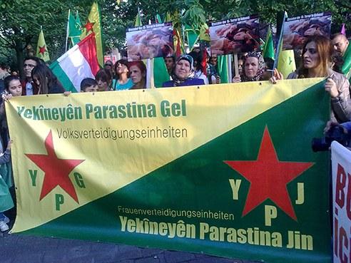 26.06.15 - Solidaritätsdemos gegen IS-Anschläge