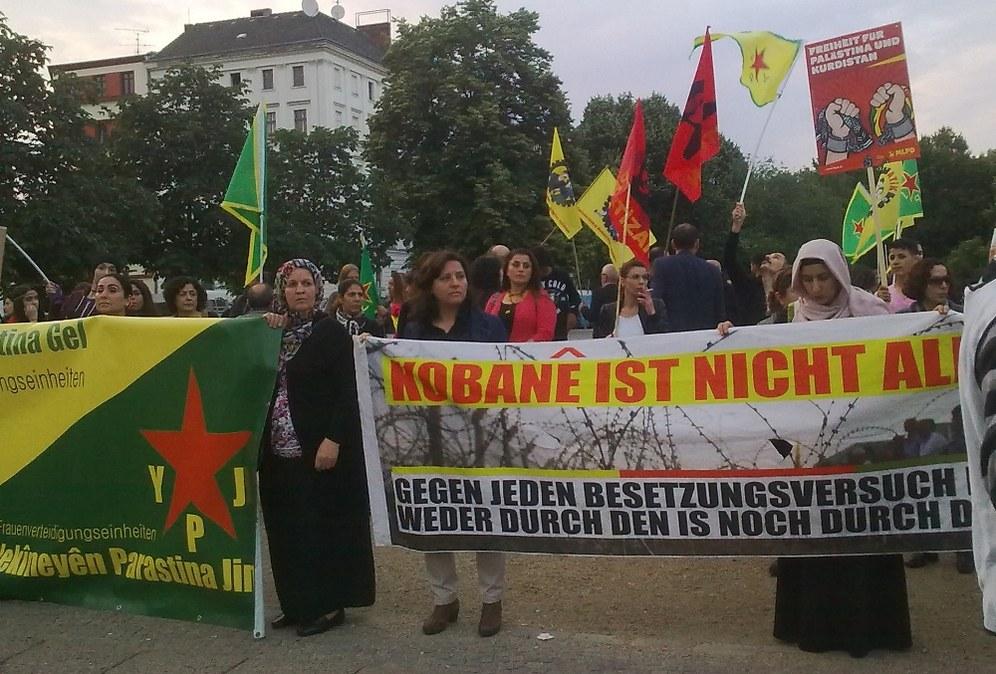 Europaweite Solidarität - Kämpfe in Kobanê dauern an