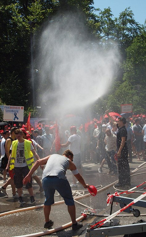 Bosch: 3.000 bei bundesweitem Aktionstag
