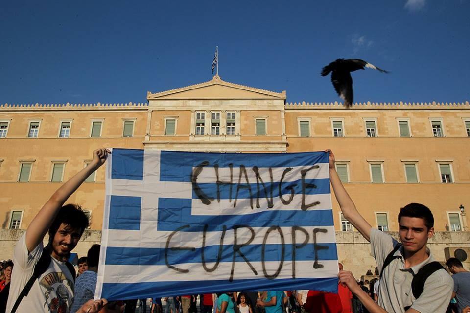 Gelsenkirchen: Montagsdemo erklärt sich solidarisch mit dem griechischen Volk