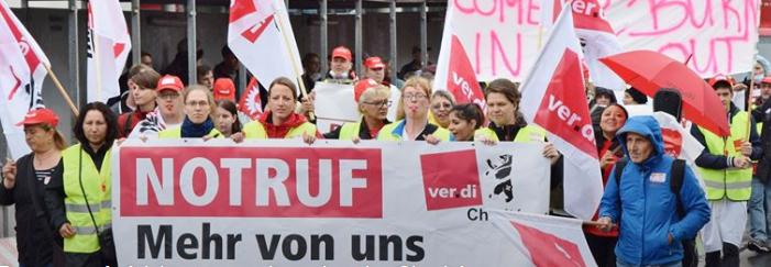 MLPD-Betriebsgruppe am Universitätsklinikum Essen erklärt sich solidarisch mit streikenden Kolleginnen und Kollegen der Charité