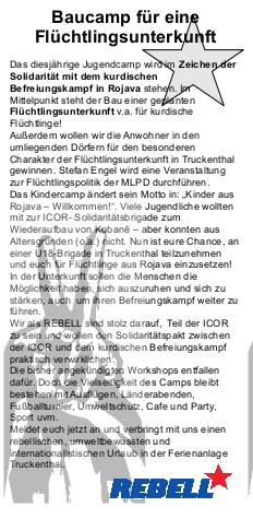 Sommercamp von REBELL und ROTFÜCHSEN: Jetzt noch anmelden und das Highlight nicht verpassen!