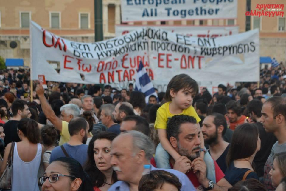 Euro-Gipfel: Eine neue Stufe des EU-Diktats gegen das griechische Volk