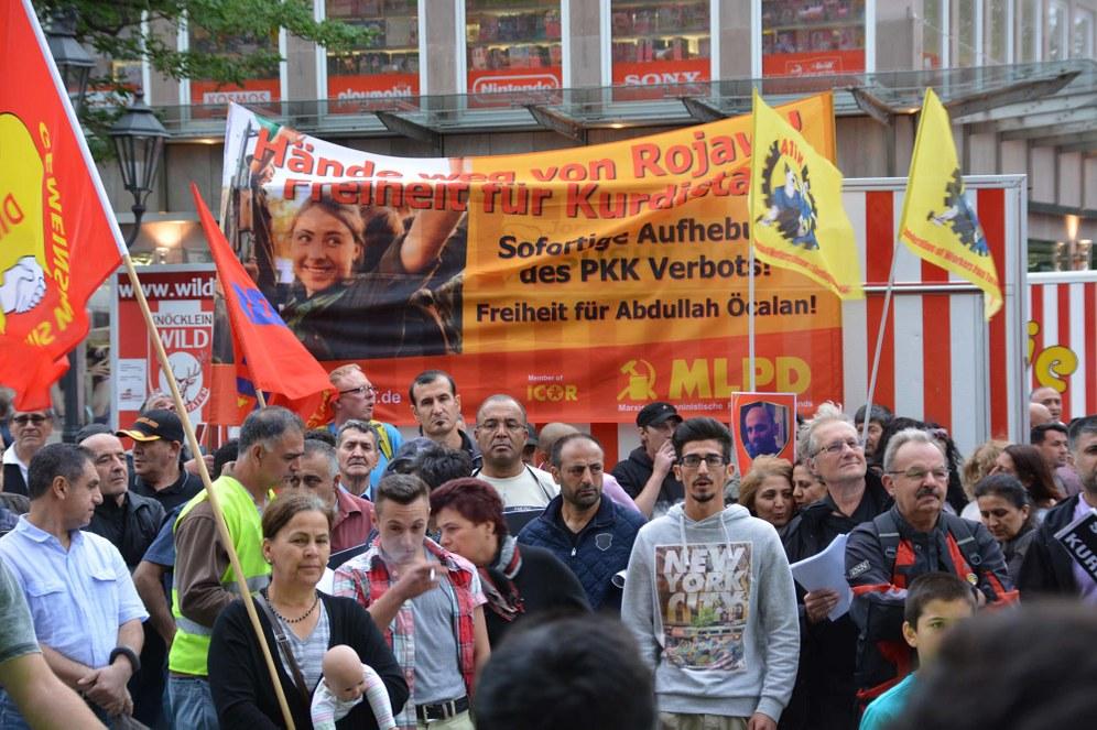 Weitere Demos für die sofortige Einstellung der kriegerischen Handlungen gegen den kurdischen Befreiungskampf