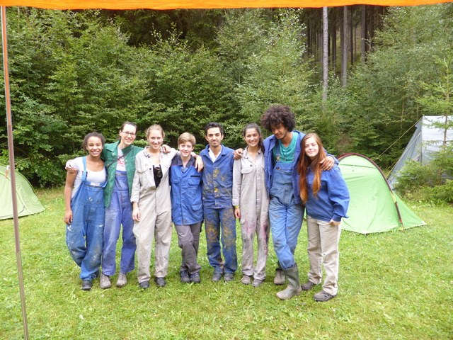 Sommercamp 2015 des REBELL eröffnet - Ernsthaftigkeit - Tatendrang – Optimismus