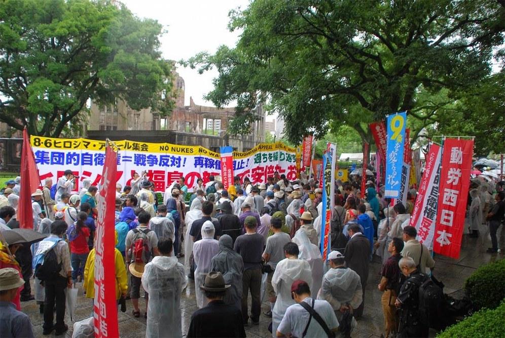 70 Jahre Hiroshima - Verbot, Ächtung und Vernichtung aller ABC-Waffen!