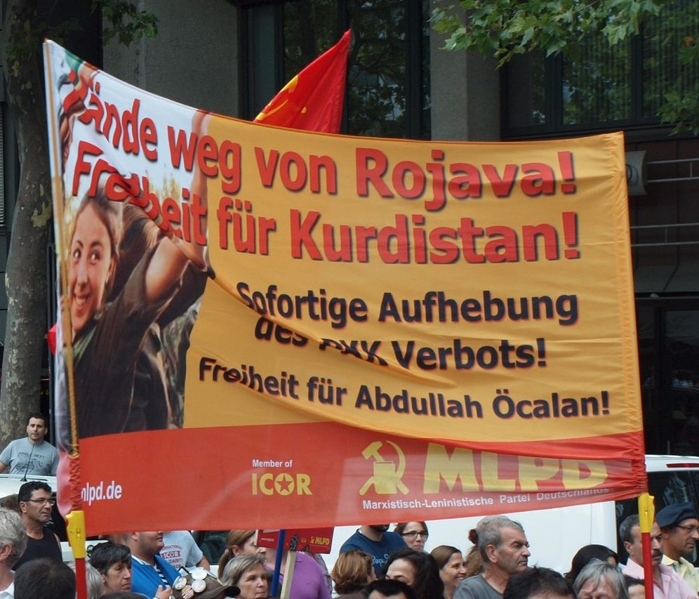 Auf zur Demo gegen die türkischen Kriegshandlungen und für den kurdischen Freiheitskampf in Köln
