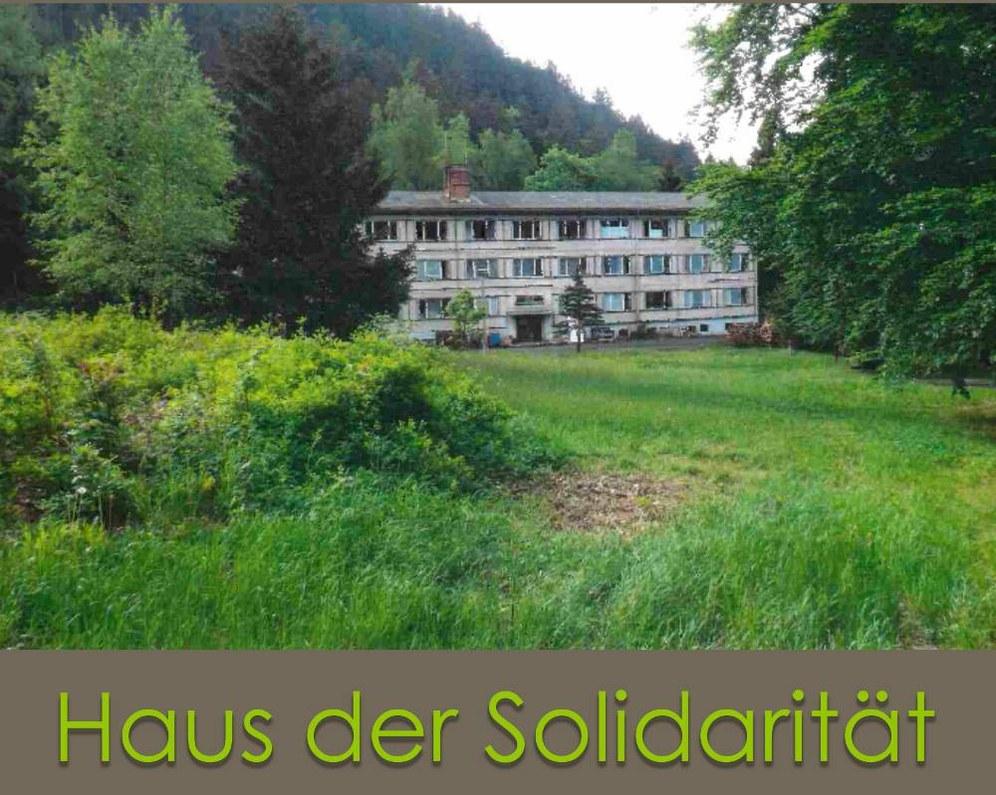 "Bürgerversammlungen zum ""Haus der Solidarität"""