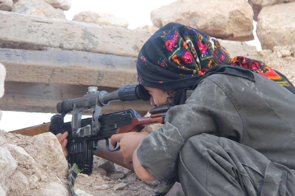 Brutaler Terror kann den Kampf gegen die IS-Faschisten nicht aufhalten
