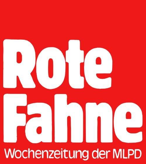 """Diskussionen rund um die """"Rote Fahne"""""""