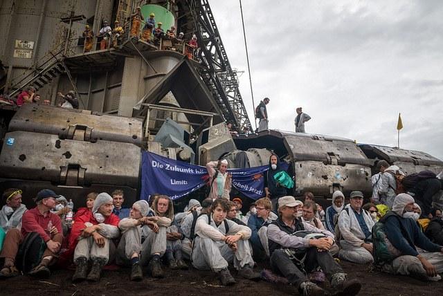 Weitere Proteste gegen Tagebau Garzweiler