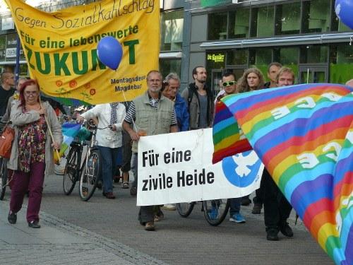 Antikriegstags-Vorbereitung in Magdeburg: Wille zur Zusammenarbeit gewachsen