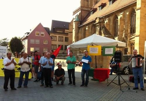 Antikriegstag in Heilbronn: Schulterschluss mit Migranten