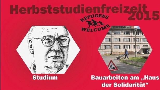 """""""Refugees Welcome"""" am Dortmunder Hauptbahnhof - Rebellen helfen mit"""