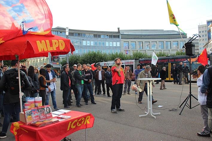 Kassel: Demonstration gegen reaktionäre Attacken auf HDP in der Türkei