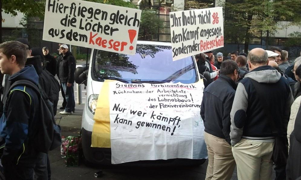 """Siemens-Turbinenfabrik Berlin: """"Hier fliegen gleich die Löcher aus dem Kaeser"""""""