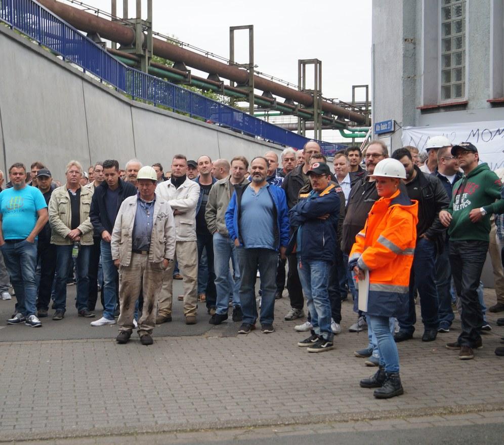 Streik bei HSP in Dortmund