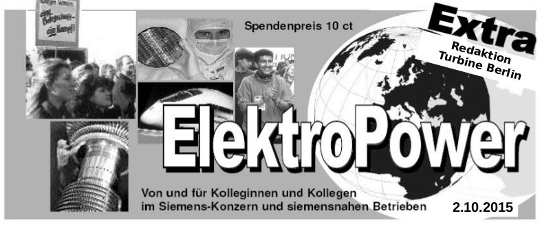 """Siemens: """"Auszug der 200"""" aus der Werkversammlung setzte Signal"""