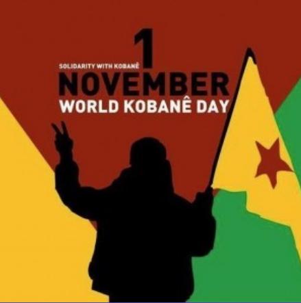 Internationaler Aktionstag für die Freiheit und den Wiederaufbau von Kobanê