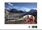 Courage-Frauen erstellen Kalender für die Weltfrauenkonferenz 2016