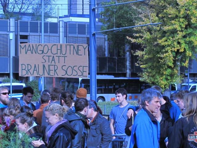Heidelberg: 24 Neofaschisten demoralisiert nach Hause geschickt