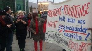 Erfurt: Mit Wiking-Horn gegen AfD-Hetze