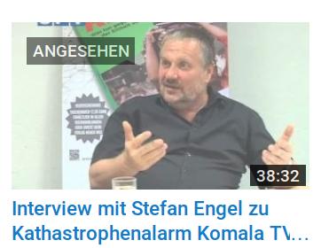 """Stefan Engel spricht mit """"Komala TV"""" über """"Katastrophenalarm!"""""""