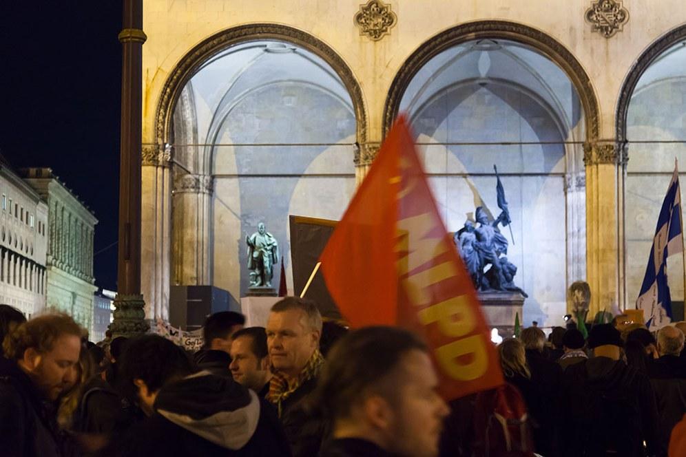 """Aufmarsch von """"Pegida"""" in München verhindert"""