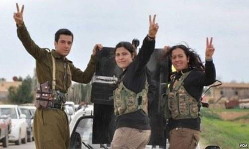 Kurden und Yesiden gegen faschistischen IS in der Offensive
