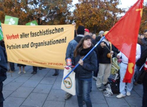 """""""Reichspogromnacht"""" mahnt: Faschistische Organisationen und ihre Propaganda sofort verbieten!"""