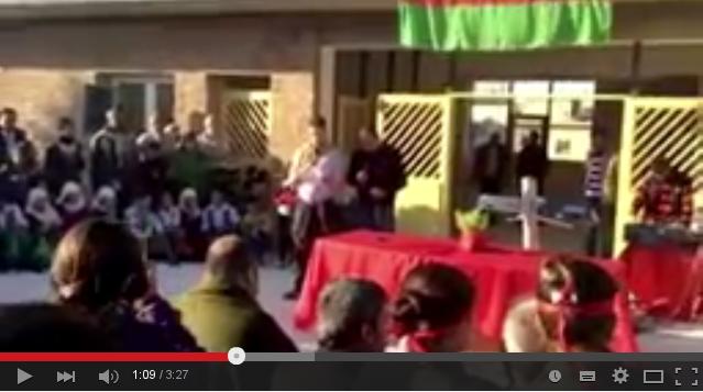 Videofilm von der Übergabefeier des Gesundheitszentrums in Kobanê