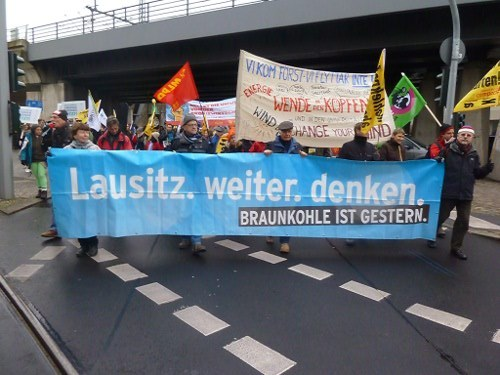 "15.000 beim ""Global Climate March"" in Berlin"