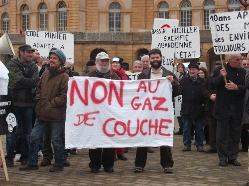 "Frankreich: ""Gaz de Couche: Non merci!"""