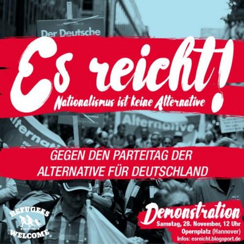 Hannover gegen AfD: Erfolg der zwei Bündnisse