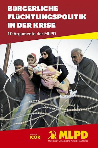 Humanitäre Katastrophe an der griechisch-mazedonischen Grenze