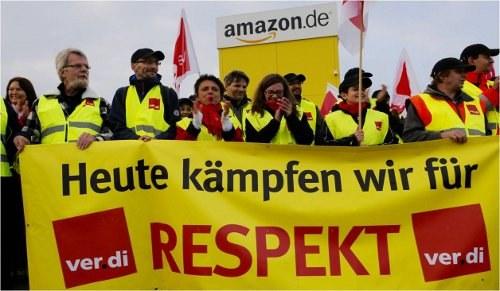 Streiks bei Amazon in Rheinberg und Werne werden fortgesetzt