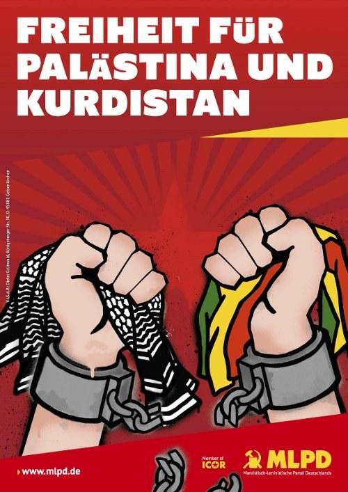 Demonstration für Aufhebung des Verbots der PKK