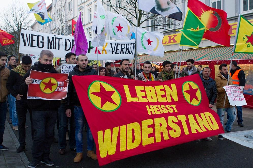 Hamburg: Deutliches Zeichen gegen die Paragraphen 129a und 129b