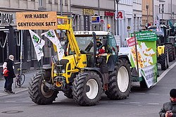 Bauern, Verbraucherschützer und Umweltverbände bereiten Demo gegen Agrarkonzerne vor