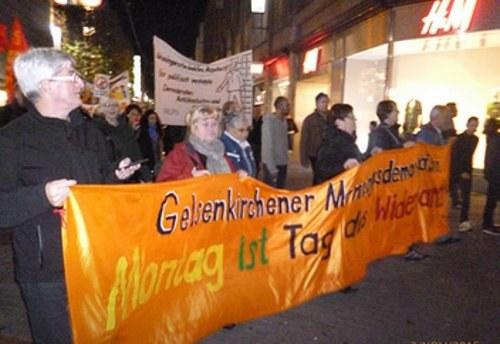 Gelsenkirchen: Montagsdemo unterstützt albanische Familie gegen Abschiebung