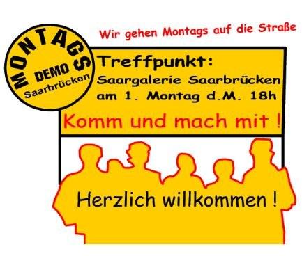 Saarbrücken: Montagsdemo verteidigt ihren Platz