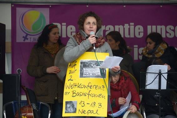 """Internationaler Frauentag: """"Lasst uns mobilisieren, damit all dies auf der Weltfrauenkonferenz zusammenkommt"""""""